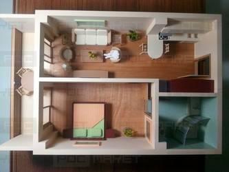 Макет интерьера квартиры